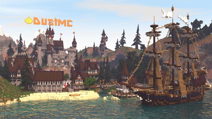 DUSTMC Minecraft Fun Und PVP Minigames Server DUSTMC - Minecraft server lobby erstellen